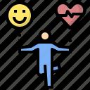 exercise, balance, happiness, equilibrium, delight, pleasure, control