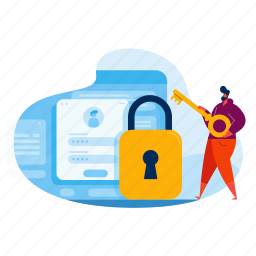 security, online, lock, protection, privacy, account