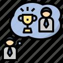 ambitious, aspiring, motivation, goal, impulse icon