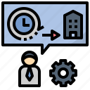 devotion, employee, enthusiasm, responsibility icon