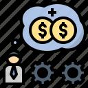 bonus, drive, impulse, incentive, motivation icon