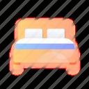 bed, furniture, chair, households, belongings, household