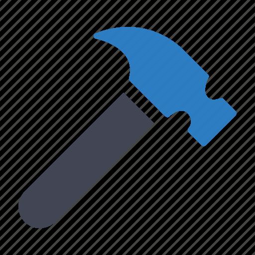 diy, hammer, tool icon