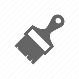 brush, design, drawing, equipment, grip, hardware, household, industry, instrument, paint, repair, repairing, tool, tools, work icon