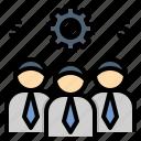officer, organization, staff, teamwork, workmen