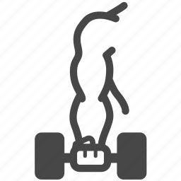 arm, dumbbell, exercise, fitness, gym, weight training, workout icon