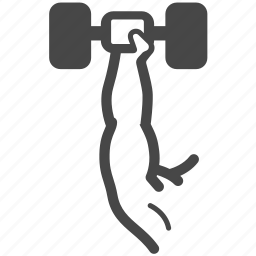 arm, exercise, fitness, gym, shoulder, training, workout icon