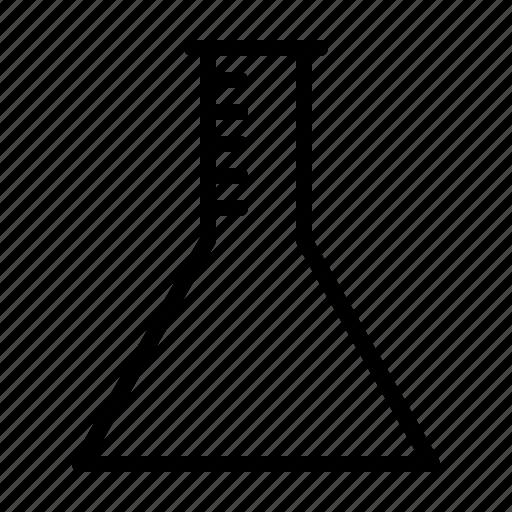 beaker, education, school, university, workshop icon