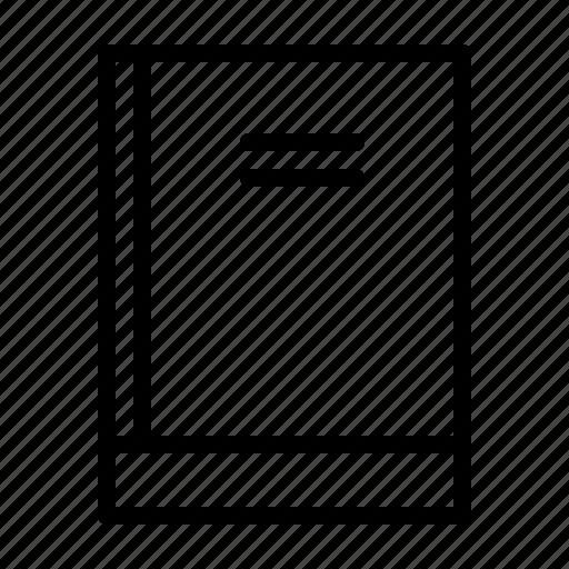 book, education, school, university, workshop icon