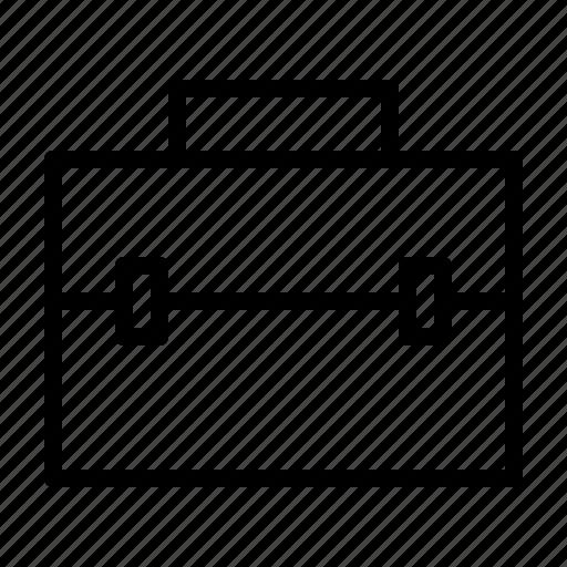 briefcase, education, school, university, workshop icon