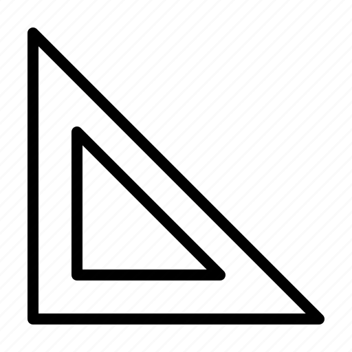 education, geometry, school, university, workshop icon