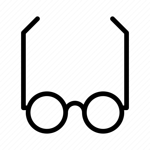 education, glasses, school, university, workshop icon