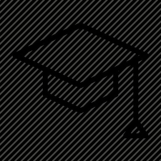 board, education, mortar, school, university, workshop icon