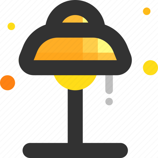 bulb, lamp, light, table lamp, workspace icon
