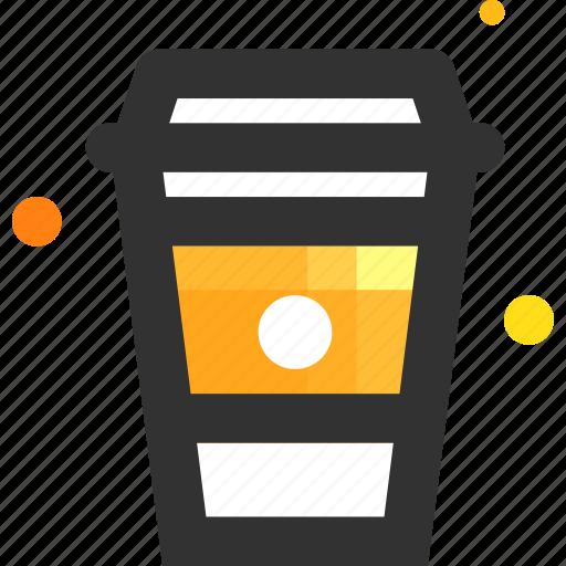 americano, cappuccino, coffee, coffee break, cup, latte, morning icon