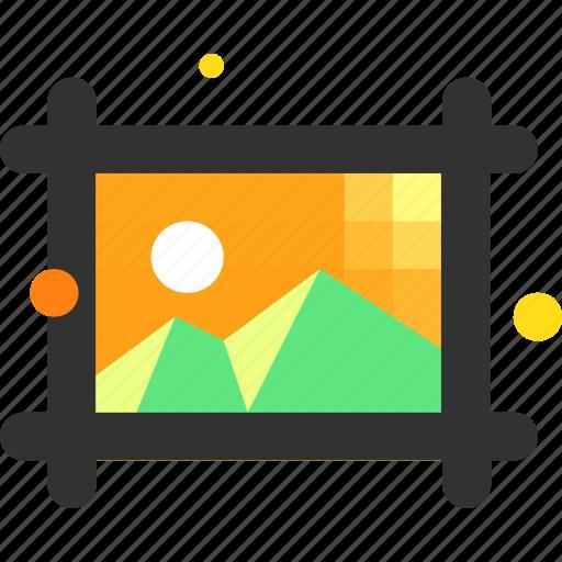 artboard, image, picture icon