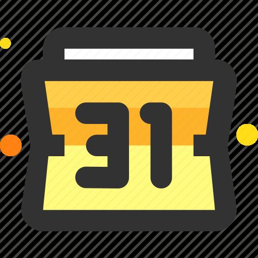 calendar, date, deadline, month icon
