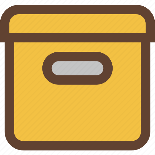 box, boxes, container, stationery, storage icon