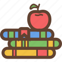 apple, book, books, education, read, reading, storybook icon