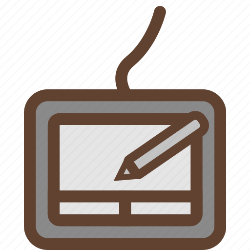 computer device, digital drawing, draw, drawing tablet, tablet, wacom, wacom tablet icon