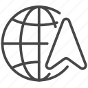global, navigator, direction, map, international, world, gps