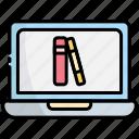 laptop, computer, technology, ebook, book, online book