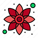 chamomile, flower, green, plant icon