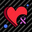 awareness, breast, cancer, heart