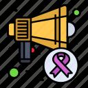 awareness, cancer, day, speaker, world