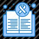 awareness, book, cancer, day, health