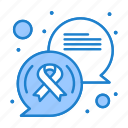 cancer, chat, communication, message, sign