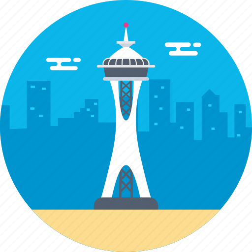 kerry park, queen anne hill, seattle center, space needle, washington icon
