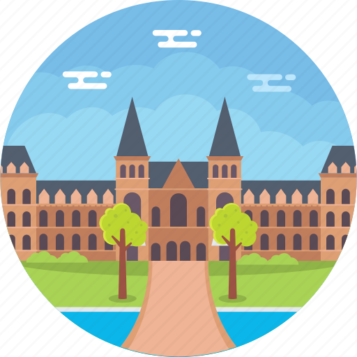 amsterdam, borough amsterdam south, dutch national museum, netherlands, rijksmuseum icon