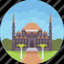 imperial mosque, christian patriarchal basilica church, istanbul museum, hagia sophia, monument