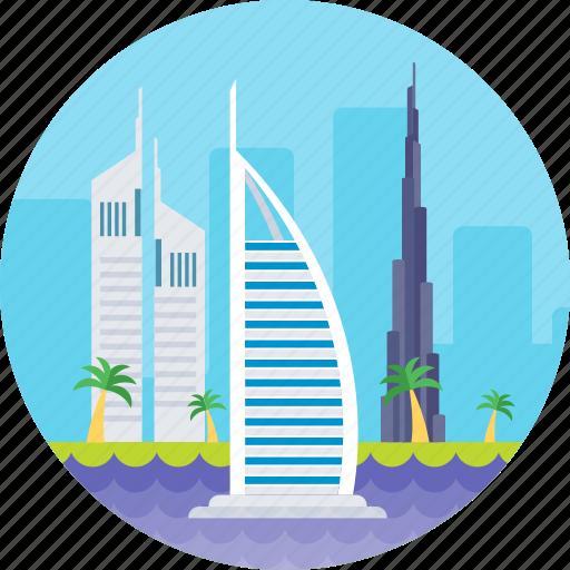 burj al arab, dubai, dubai luxury hotel, tower of arab, uae icon