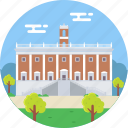 ancient rome, italy, palazzo senatorio, roma, senatorial palace icon