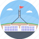 australian, canberra, capital of australia, parliament house canberra, parliament of australia icon