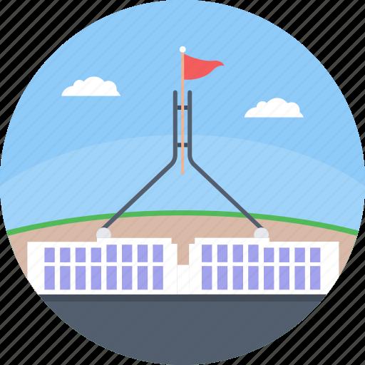 australian, canberra, capital of australia, parliament house canberra, parliament of australia icon