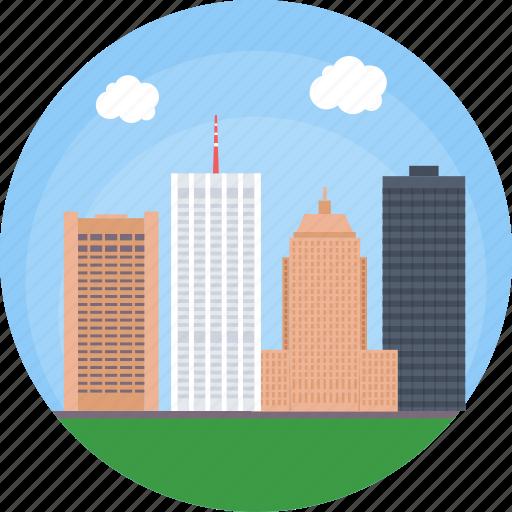boston, boston skyline, boston skyscraper, charles river, massachusetts icon