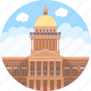 atlanta, georgia, georgia state building, georgia state capitol, united states icon