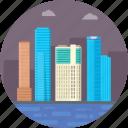 australia, melbourne, melbourne city, melbourne cityscape, melbourne skyscrapers icon