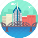 canadian pacific railway bridge, montreal, montreal city, quebec, saint-laurent railway bridge icon