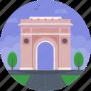 arcul de triumf, bucharest, bucharest triumphal arch, romania, șoseaua kiseleff icon