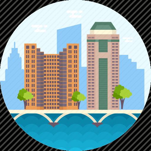 columbus, ohio skylines, skyline of columbus, tallest buildings in columbus, usa icon