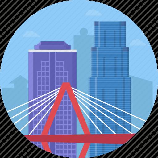 christopher s. bond bridge, christopher s. bond bridge kansas city, kansas city, missouri, new paseo bridge icon