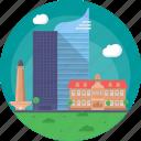 fountain pen building jakarta, indonesia, jakarta, jakarta skylines, jakarta skyscrapers icon
