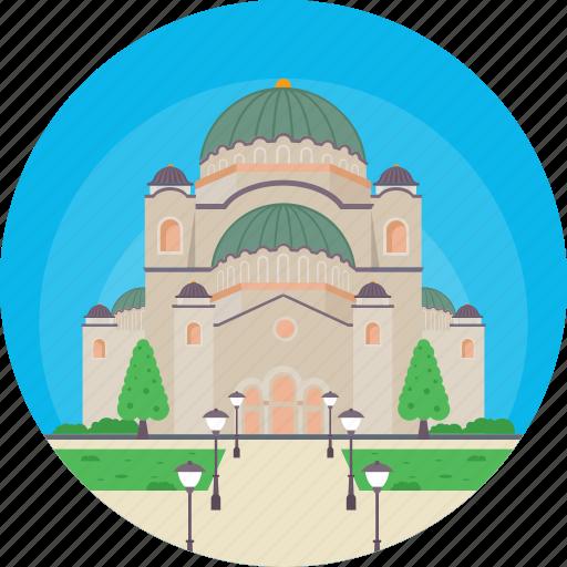 Belgrade, church of saint sava, serbia, temple of saint sava, vračar icon - Download on Iconfinder