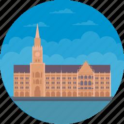 germany, marienplatz, muenchen, munich city hall, munich historic building icon