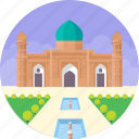 bangladesh, dhaka, fort aurangabad, lalbagh fort, mughal fort complex icon