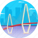 arthur ravenel jr. bridge, cable-stayed bridge, charleston south carolina, cooper river, usa icon
